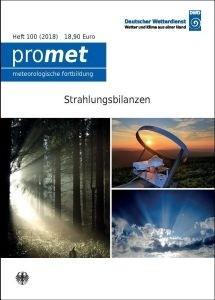Titelseite der Publikation Strahlungsbilanzen (Promet, Heft 100)