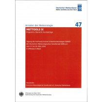 METTOOLS IX (Annalen der Meteorologie Nr. 47)