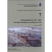 Hohenpeißenberg 1781 - 2006  (Geschichte der Meteorologie Nr. 7)