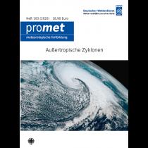 Titelseite der Publikation Außertropische Zyklonen (Promet, Heft 103)