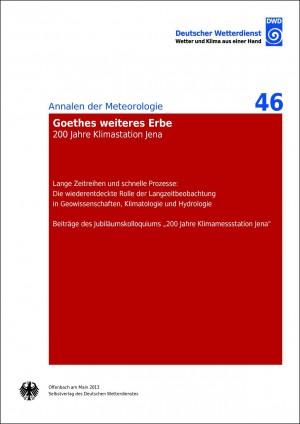 Goethes weiteres Erbe (Annalen der Meteorologie Nr. 46)