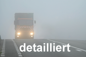 Detaillierte Strassenwettervorhersage Einstiegsbild