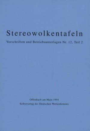 Stereowolkentafeln (VuB Nr. 12 Teil II)